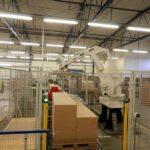 Baliaca linka - Robotizované pracovisko