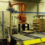 Paletizácia cukru - Robot ABB